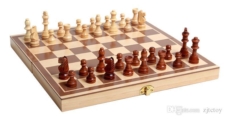 Satın Al 1 Adet Klasik Ahşap Uluslararası Satranç Seti Kurulu Oyunu