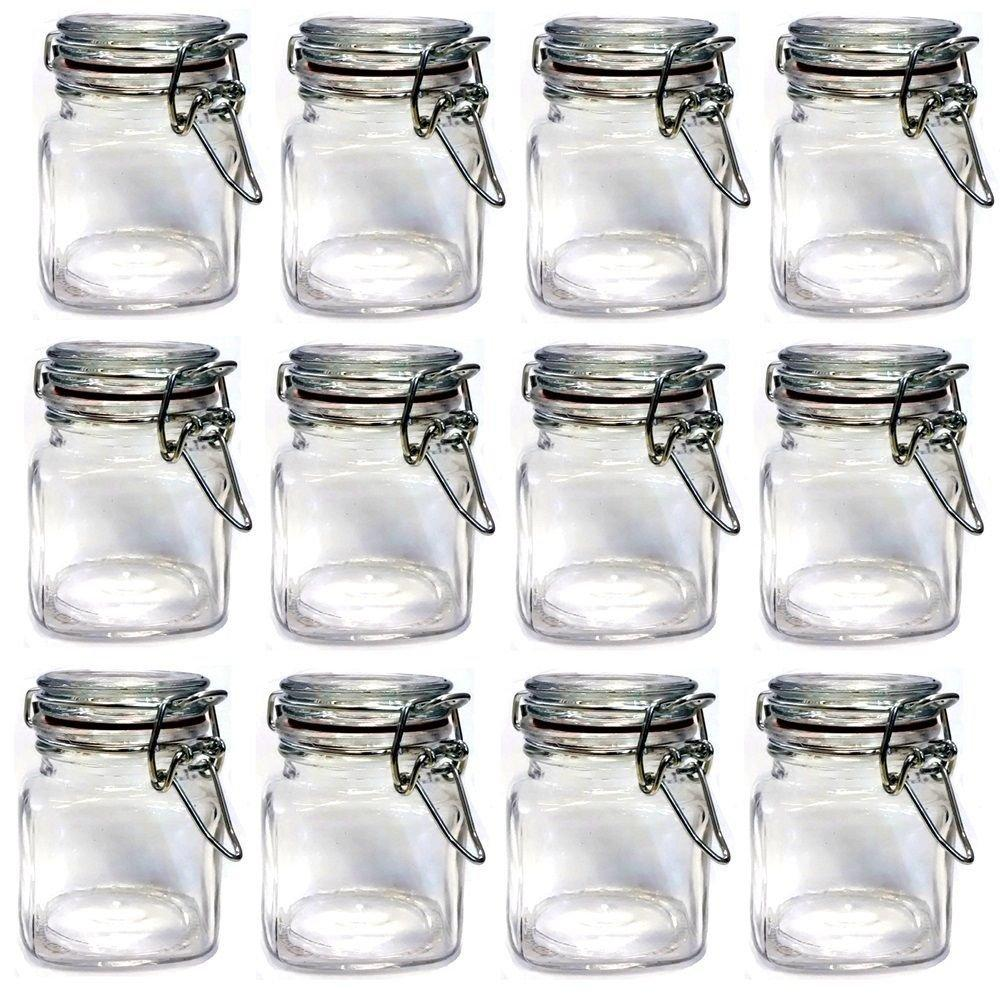 2018 Wholesale Set Of Mini Glass Clip Top Spice Storage Jars Usd33.00 For  /Each Usd2.75 From Griffith, $49.14 | Dhgate.Com