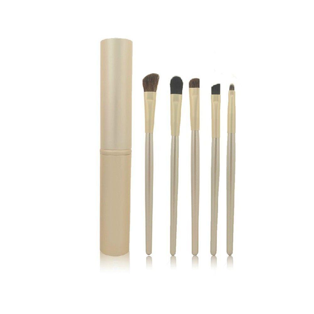 Makyaj Fırça Seti 5 adet / takım Eyeliner Kaş Fırçası Göz Farı Karıştırma Fırçası Seti Ücretsiz Kargo