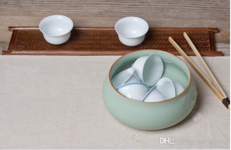 Новое прибытие китайские ситечки для чая можно поставить около 6-8 чайная чашка ru печи Tieguanyin чай мыть аксессуары T45