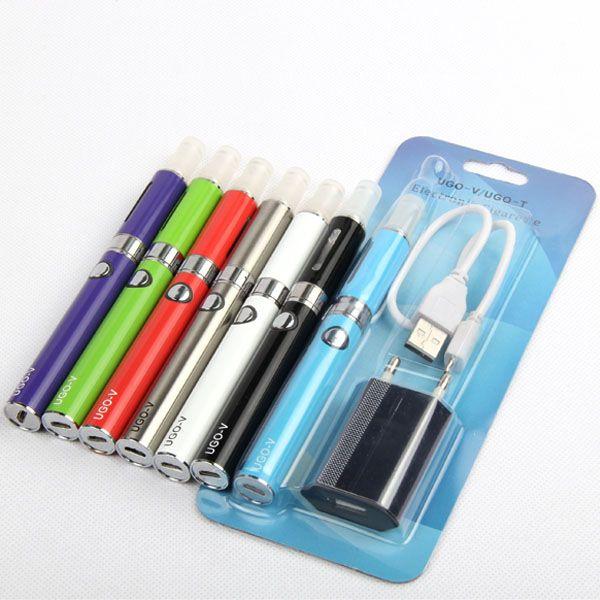 UGO V MT3 Electronic Cigarette Kit with UGO Battery E cigarette MT3 Vaporizer Applicable EVOD Ego Rechargeable Vape Pen e-cig