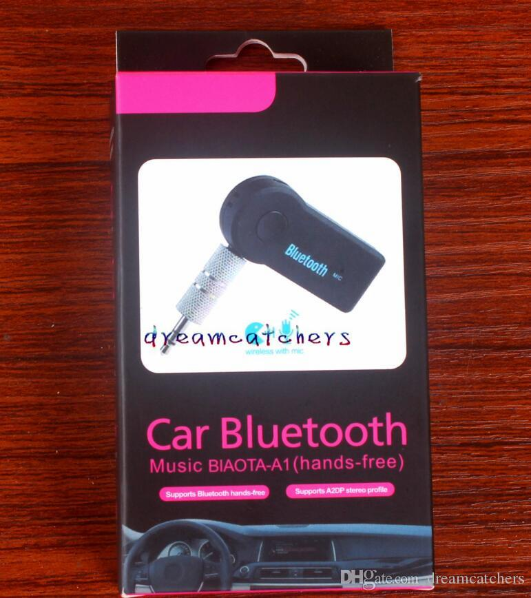 Auto Bluetooth Freisprecheinrichtung Wireless Music Receiver Audio 3,5 mm Aux Connect EDUP V 3.0 Sender A2DP Adapter mit Mikrofon für Smartphone