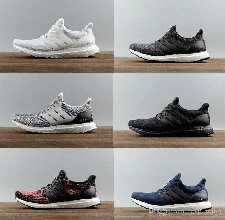 2017 Ultra boost 3.0 Triple Black White Primeknit Oreo CNY Blue Running Shoes Men Women UltraBoost Hypebeast sports shoes size 36-45 with mastercard for sale On7YS0pcq