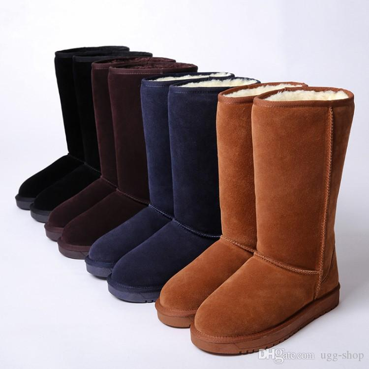 a354b6bb05a 2018 Hot sell FREE SHIPPING High Quality WGG Women s Classic tall Boots  Womens boots Boot Snow Winter leather boots US SIZE 5-13