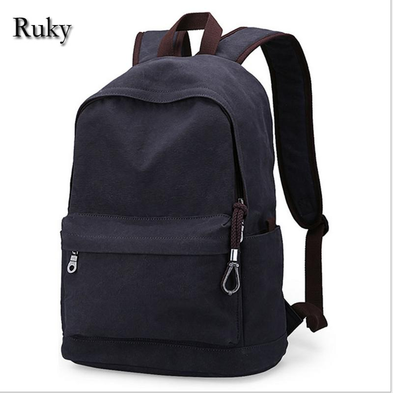 c7df13fd47 Wholesale Vintage Fashion Rucksack Men S Canvas Backpack Casual Travel  Backpack Teenagers Men Laptop Backpacks College Student School Bag Rolling  Backpack ...