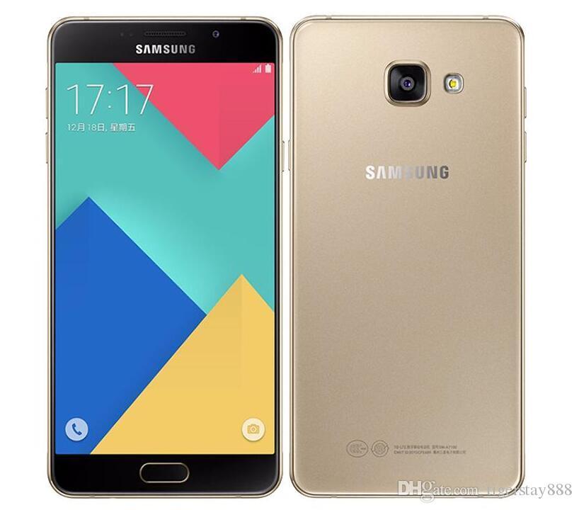 c6f917322d1 Precios De Telefonos Celulares Teléfono Celular Desbloqueado Samsung Galaxy  A7 A7100 / A710F Dual SIM Desbloqueado Octa Core 3GB / 16GB 5.5 Pulgadas  13MP 4G ...