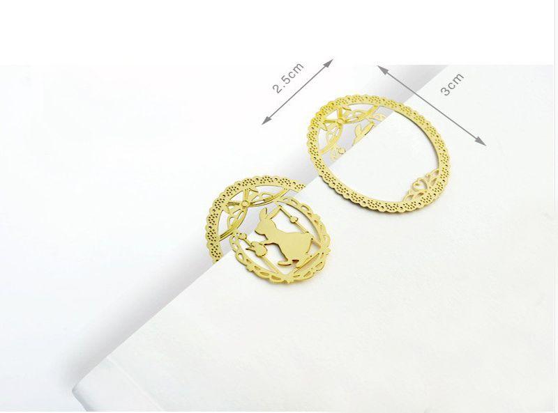 Kawaii metallo segnalibro moda Birdcage sei tipi di clip i libri di carta scuola forniture ufficio matrimonio in regalo di ritorno