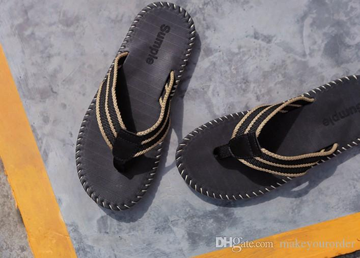 hot seller fashion In the summer the new Summer flip-flops for men with beach shoes and men sandals 313