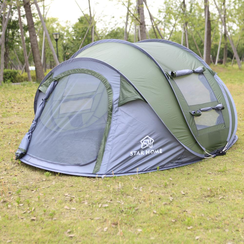 Wholesale Star Home Cheap 3 Person Tent 3 Season Waterproof Camping