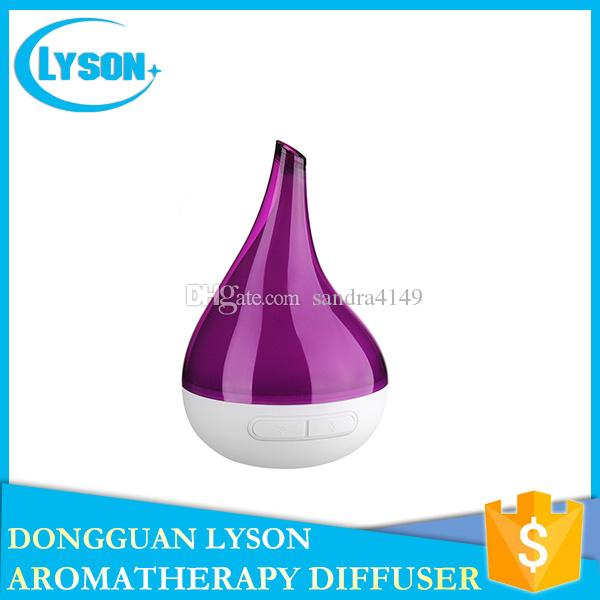 Colors Changed LED Night Light Ultrasonic Bloom Diffuser Humidifier Aroma Sprayer Home Purifier Essential Oil Diffuser