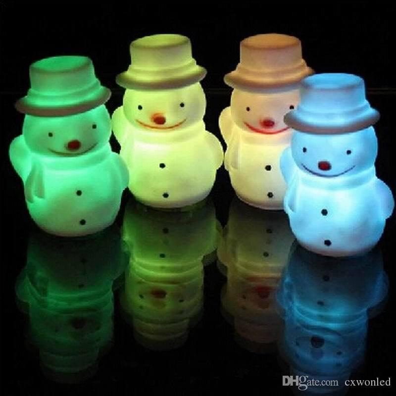 LED-dekorative Weihnachts-Weihnachtsmann batteriebetriebene Farbändernde geführte Nachtlicht Weihnachtsdekorations-Weihnachtslichter