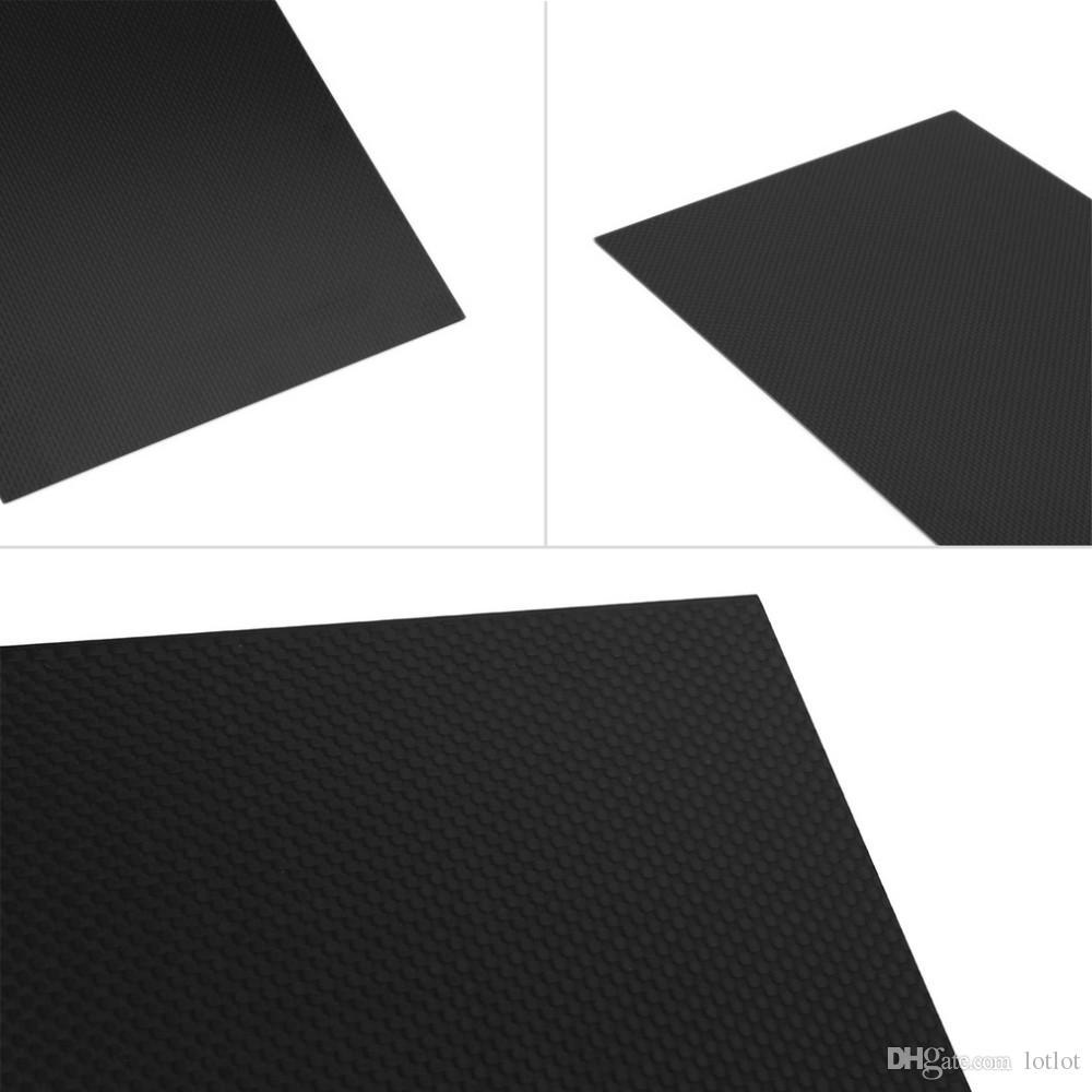 Tablero de fibra de carbono 300 * 200 Tablero de fibra de carbono de sarga de alta resistencia Tablero de fibra de carbono de sarga 3K