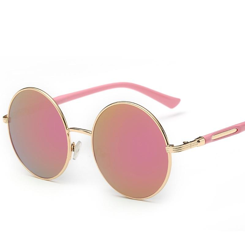 Wholesale- Hot Sale Vintage Women Round Frame Sunglasses Gafas De ...