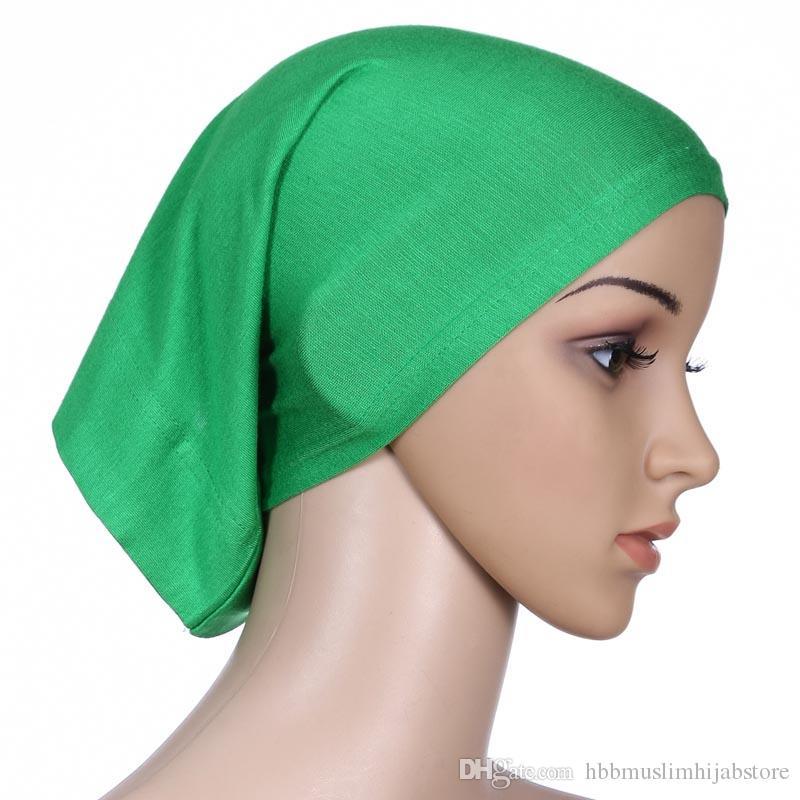 Gute Qualität Innere Abaya Cap Klassische merzerisierte Baumwolle Muslim Ummah Hijab underscraf muslimischen Jersey Hijab Schal innere Kappe Rohr Kappe
