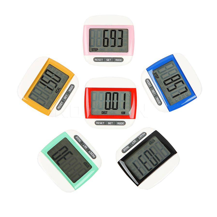wholesale mini portable step counter run walking digital lcd  - wholesale mini portable step counter run walking digital lcd pedometer stepcounter distance calorie counter g maps pedometer g map pedometer fromdiedou