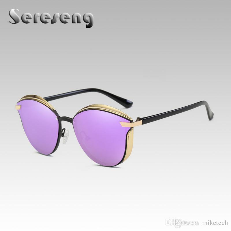 Compre 2018 Gafas De Sol De Moda Mujeres Hombres Diseñador De La ...