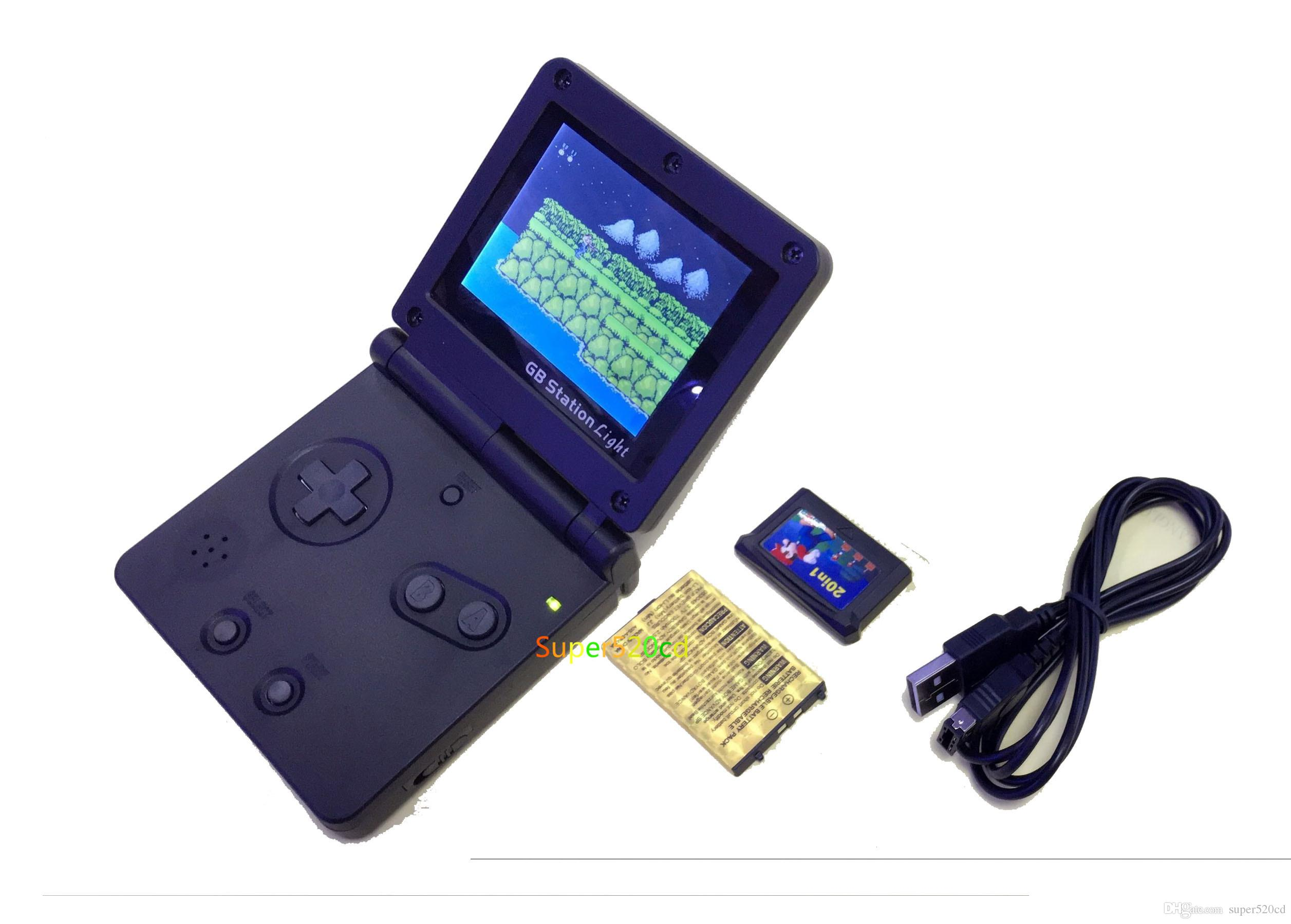 Gb Station Light Boy Sp Pvp Handheld Game Player 8 Bit Game Console