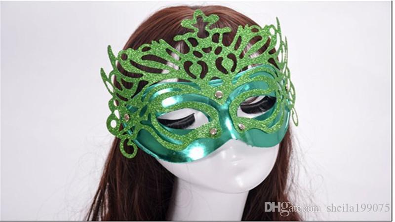 красивая девушка корона маска костюм мяч Венеция Маска платье Маска новая мода женщина