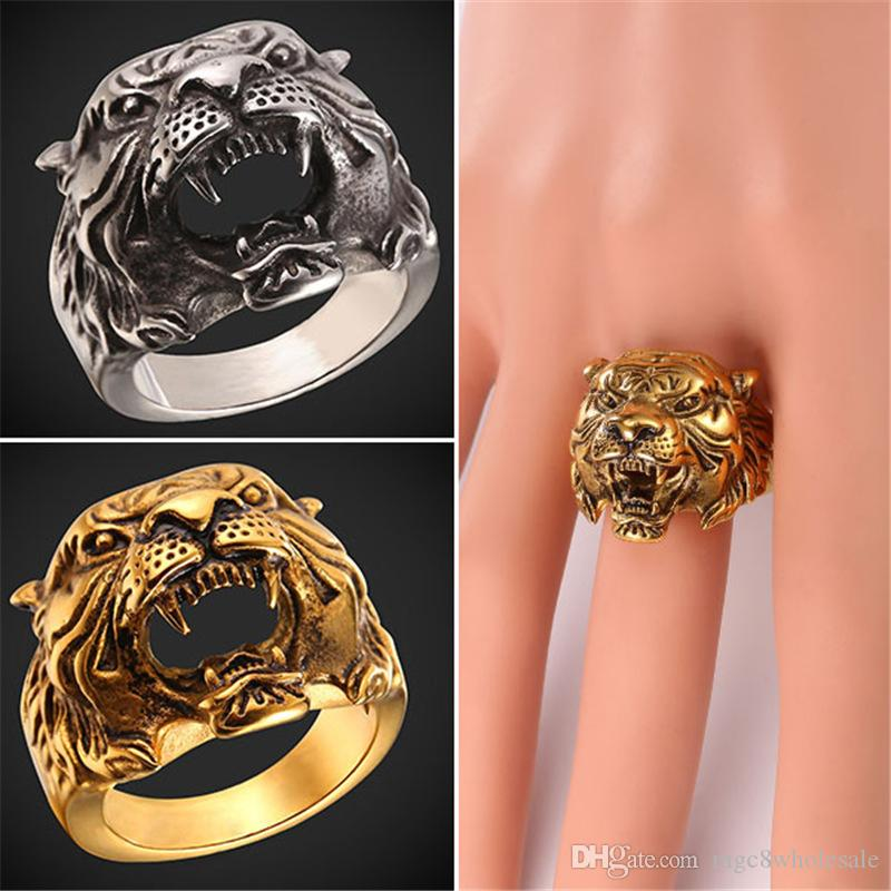 rings products tiger ring explorers head ancient