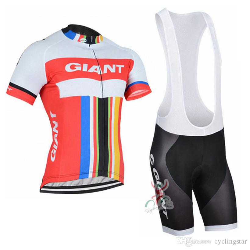 New Giant Tour de France cycling jersey pro team Men's short sleeve quick dry bicycle clothing mtb bike maillot ropa ciclismo C0137