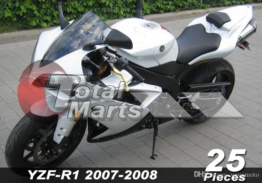 Fairing Fit For Yamaha YZF R1 R 1 YZF-R1 YZFR1 07 08 2007 2008 Injection White FA8718 Red FA8721 Blue FA8720