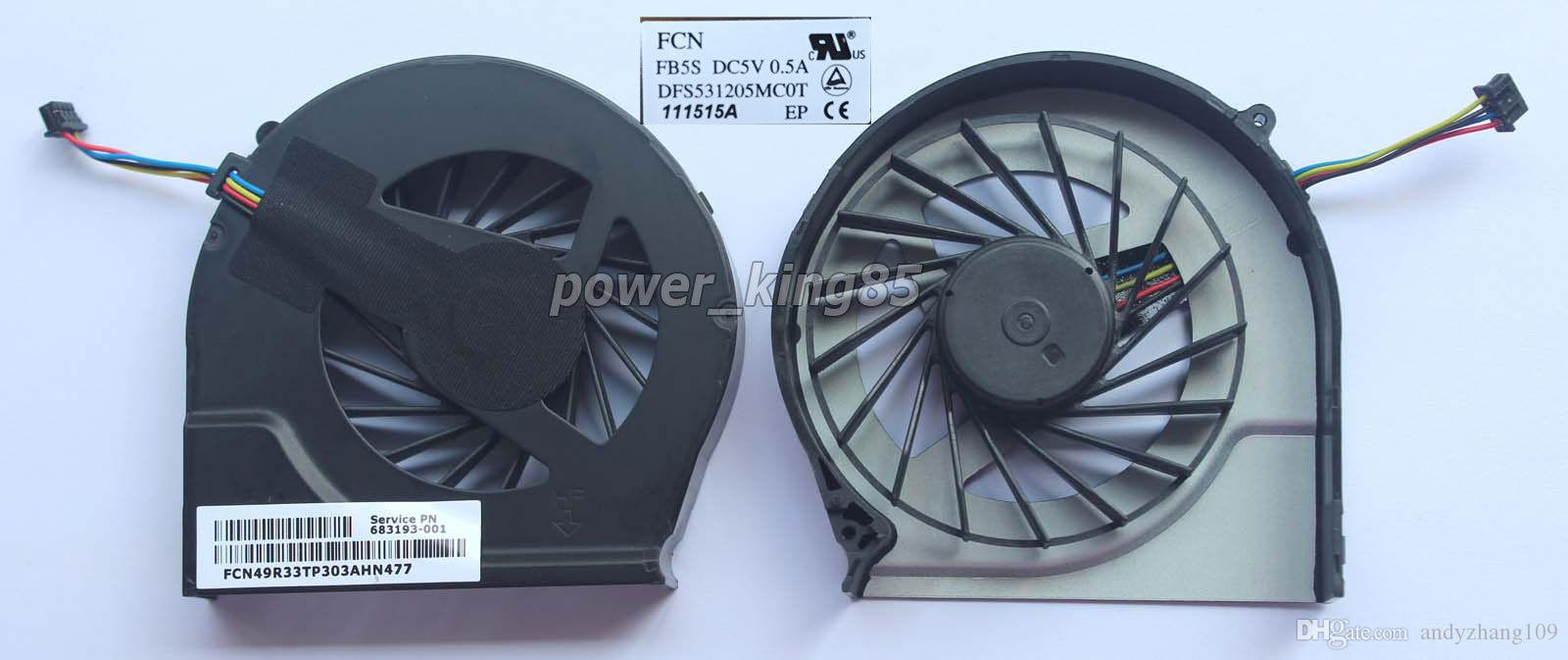 Новый оригинальный FAR3300EPA для HP павильон Г4 Г4-2000 Г7 Г7-2000 Г6 Г6-2000 косички 4 контакт охлаждающий вентилятор CPU 683193-001