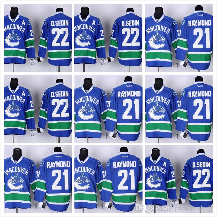d140dca42 ... 2017 Hockey Jerseys Vancouver Canucks 3 Kevin Bieksa 22 Daniel Sedin  Throwback 30 Ryan Miller 33 ...