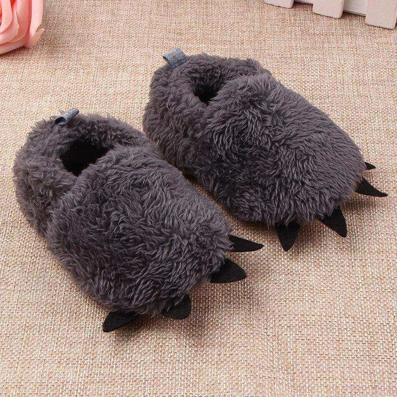 Baby Toddler Shoes Fur Claw Baby First Walkers Kids Shoes Unisex Baby Boys Girls Shoes 16111501