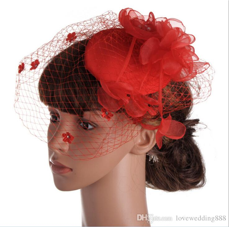 d43b24a7 Cheap Fashion White/Black/Red Bridal Hats Fascinator Hats In SPECIAL Shape  With Feather For Kentucky Derby/Wedding/Church Hat Millinery Hats For A  Wedding ...