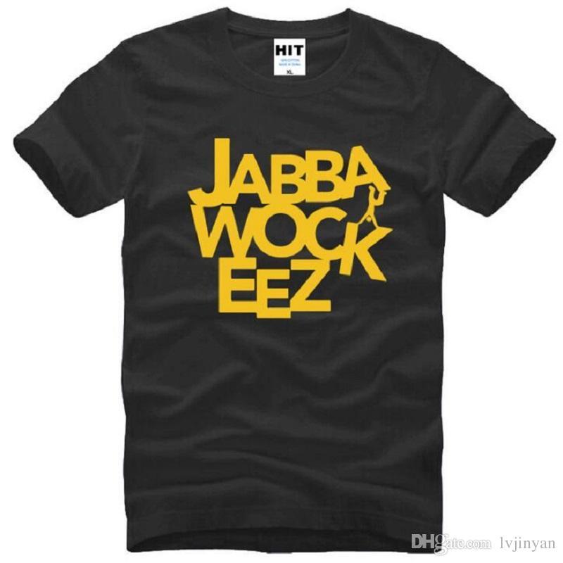 Jabbawockeez Men T Shirt Famous Abbigliamento Hip Hop T-Shirt Street Dance T-shirt Top Uomo Spedizione gratuita