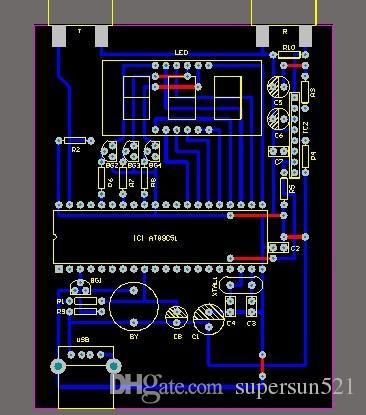 Ultrasonic Distance Measurement Module Hc Sr04 51 Mcu Ultrasonic