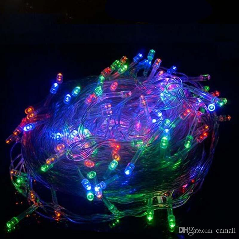 New White 100 LED 10M LED String Fairy Light XMAS Party Wedding lights Twinkle lights Indoor/Outdoor Use