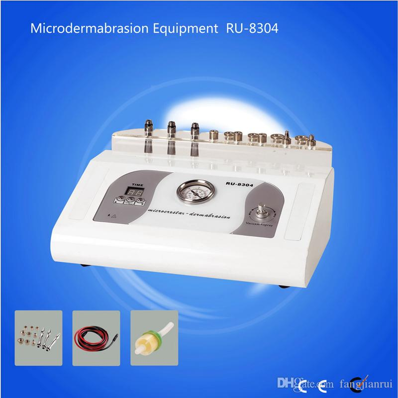 RU8304 elmas mikrodermabrazyon makinesi ile 9 İpuçları güzellik makinesi ev kullanımı 3 1 elmas mikrodermabrazyon dermabrazyon soyma makinesi