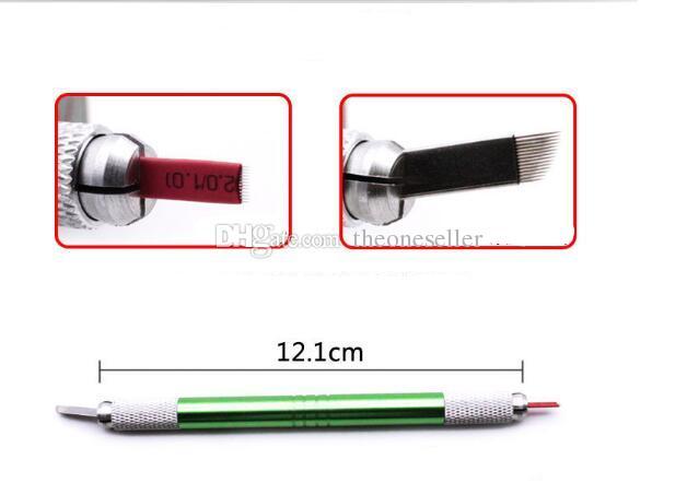 Semi permanent tattoo pen pen: double hand embroider eyebrow pencil eyebrow eyebrow knife fog