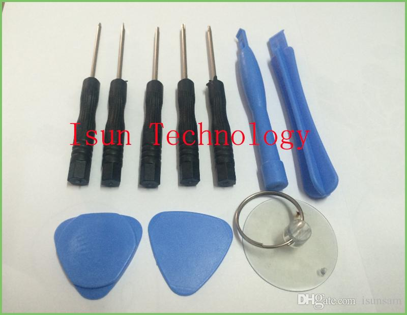 top quality 11 in 1 Cell Phones Opening Pry Repair Tool Kit Screwdrivers Tools Set Ferramentas Kit For 5S 4 Samsung htc Moto Sony