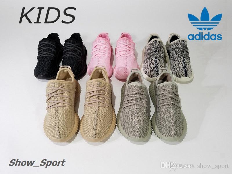 e4872b0364ea7 official adidas yeezy boost 350 kids gold pink a2650 b9d04
