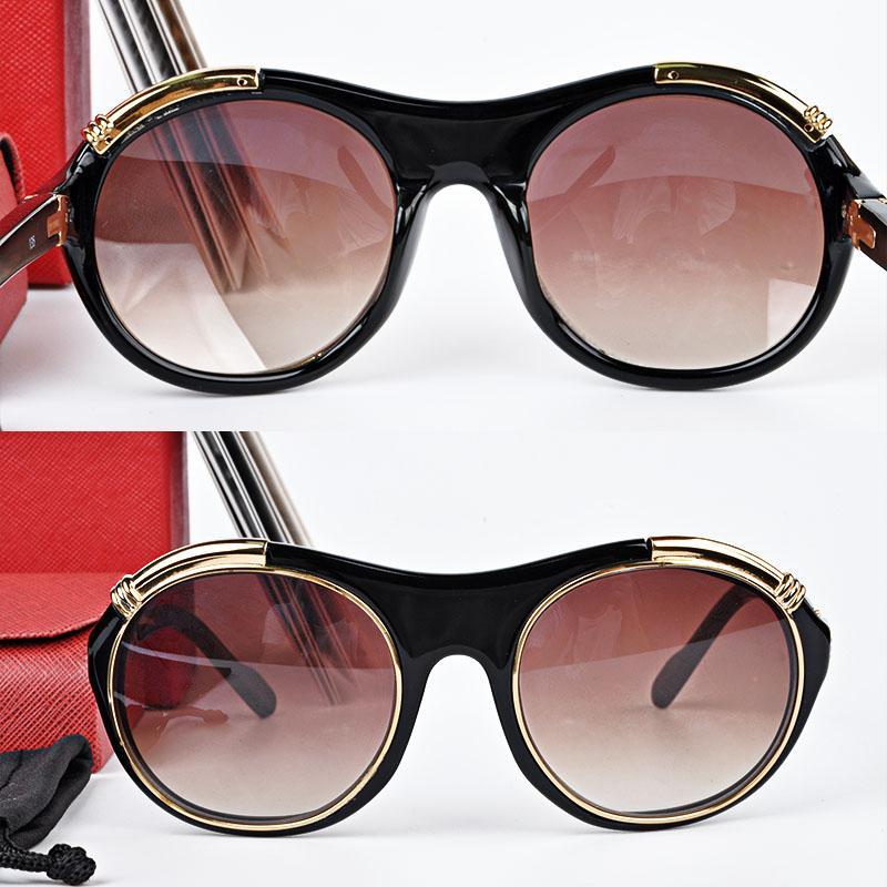 Brand CT1117 Mens Sunglasses Designer Vitesse Style Tortoise Brushed ...