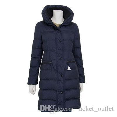 new concept ed1a1 5a562 Kaufen Sie Winter Daunenmantel Frauen Jacke lange warme Mäntel Stehkragen  Marken Designer Damen Luxus American Outwear kalt Parkas Plus Größe