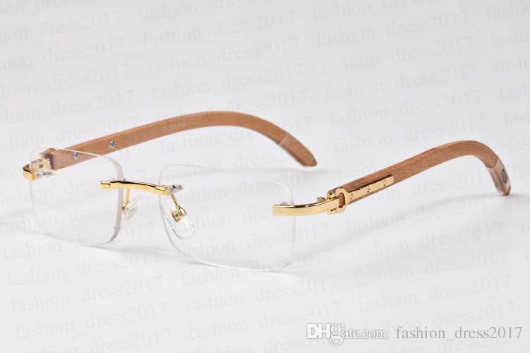2020 старинные модные спортивные солнцезащитные очки бамбуковая рамка без оправы солнцезащитные очки для мужчин wemen прозрачные линзы новые очки поставляются с коробкой люнеты gafas