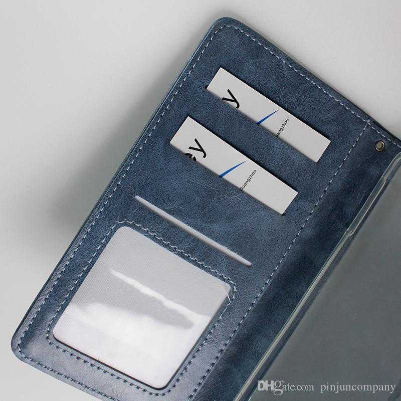 Custodia portafoglio in pelle ZTE Avid 4 MetroPCS Tempo x N9137 boost LG Aristo 2 MetroPCS LG Fortune carta di credito flip foto
