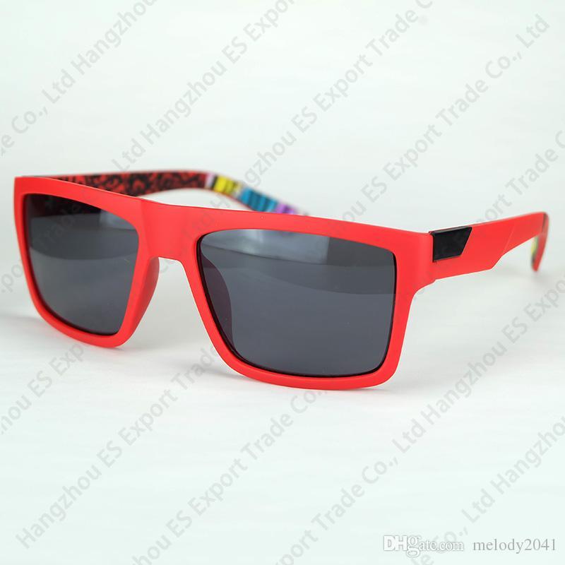 Sports Sunglasses The Danx Driving Goggles Reflective Lenses Inside Temples Printing Wholesale Sun Glasses Fox
