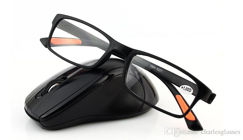 fashion TR90 super light reading glasses factory direct selling 5227