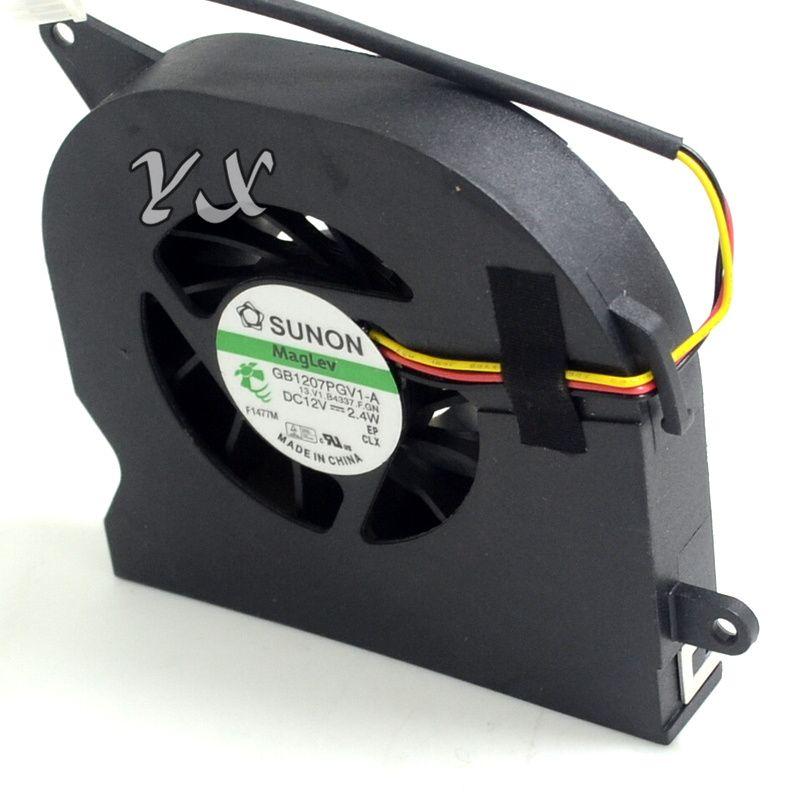 Ücretsiz nakliye Için SUNON GB1207PGV1-A, 13.V1.B4337.F.GN DC 12 V 2.4 W 3-wire 3-pin Sunucu Dizüstü Fan