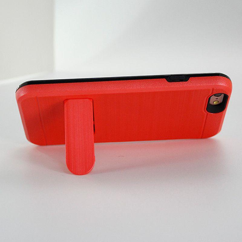 Armadura híbrida para iphone x para iphone 8 plus para samsung galaxy note 8 Alcatel A30 feroz metropcs slot para cartão de crédito Caso C