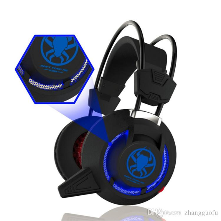 PLEXTONE PC835 professional gaming Headset Stereo Bass Headphone with Mic  Led Light for PC Gamers CS Go Dota2 LOL