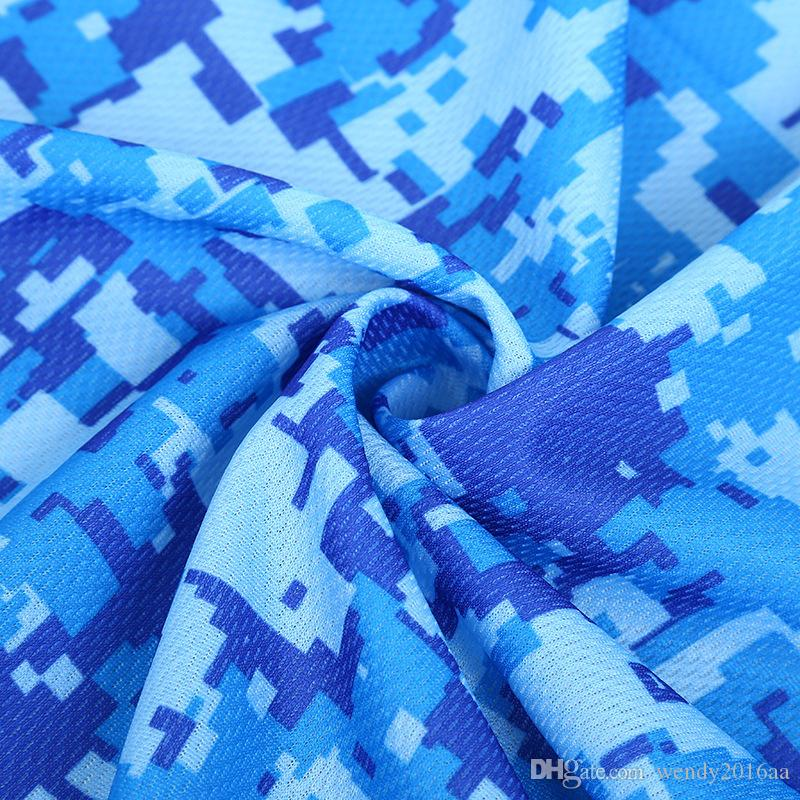 Cold Towel Summer Sport Ice Cooling Towel Double Color camouflage Hypothermia Cool Towels 33*88cm for Sports Children Adult