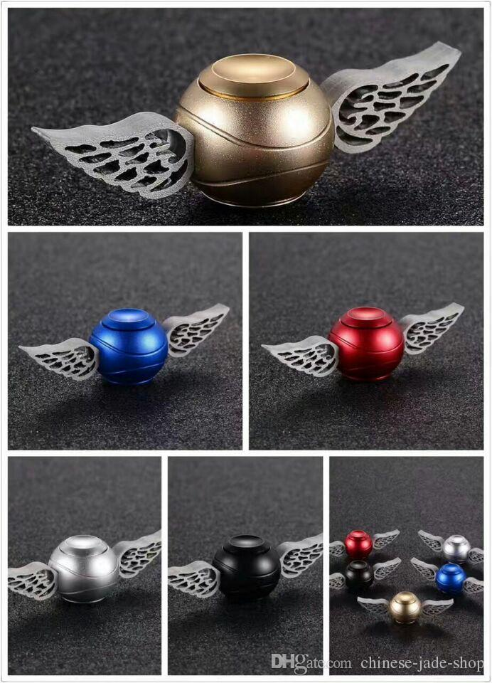 Alloy Generation 1 2 3 Hand Spinner Cupid Wing Golden Snitch Harry