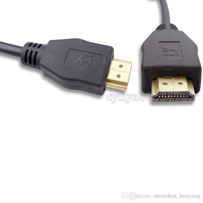 New Arrival 1.8M HDMI Male to SVGA VGA M Converter A/V Cable Lead