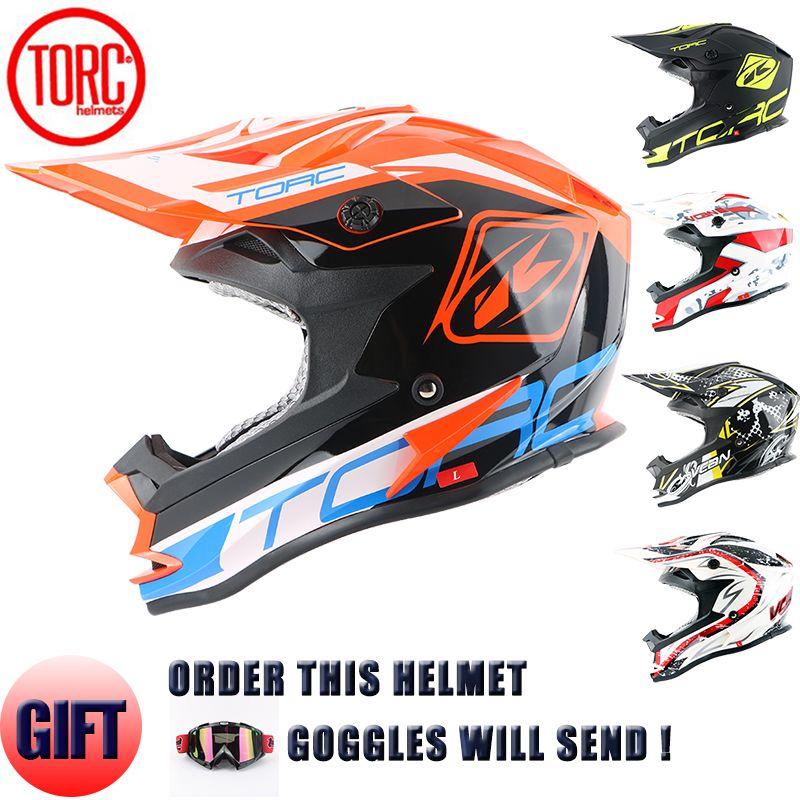 Motorcycle Helmet Brands >> Wholesale New Torc Brand Motocross Helmet Off Road Downhill Motorcycle Helmets Approved Road Racing Helmet Quality Motorbike Helmet T32