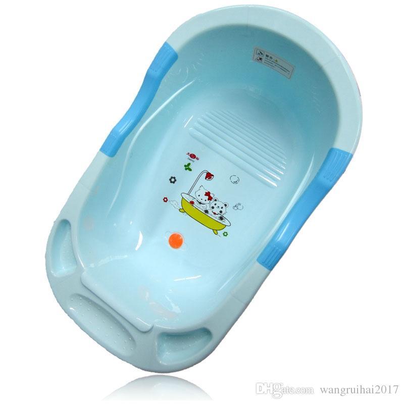 Online Cheap Infant Red Blue Child Bathtub Kids Cartoon Bathing Tub ...